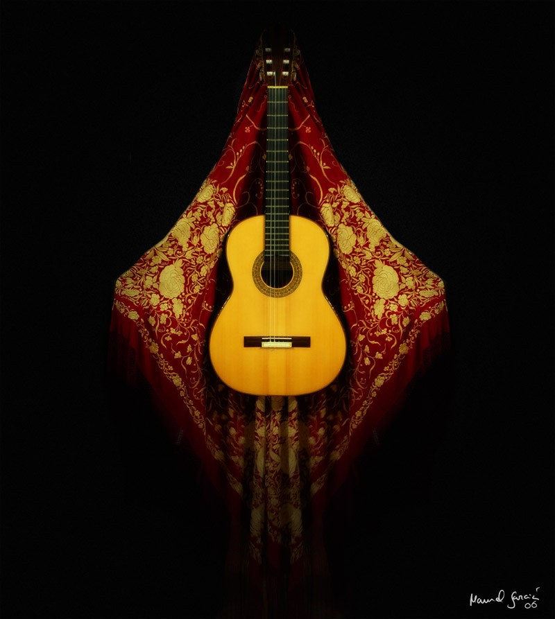 como se creo la guitarra