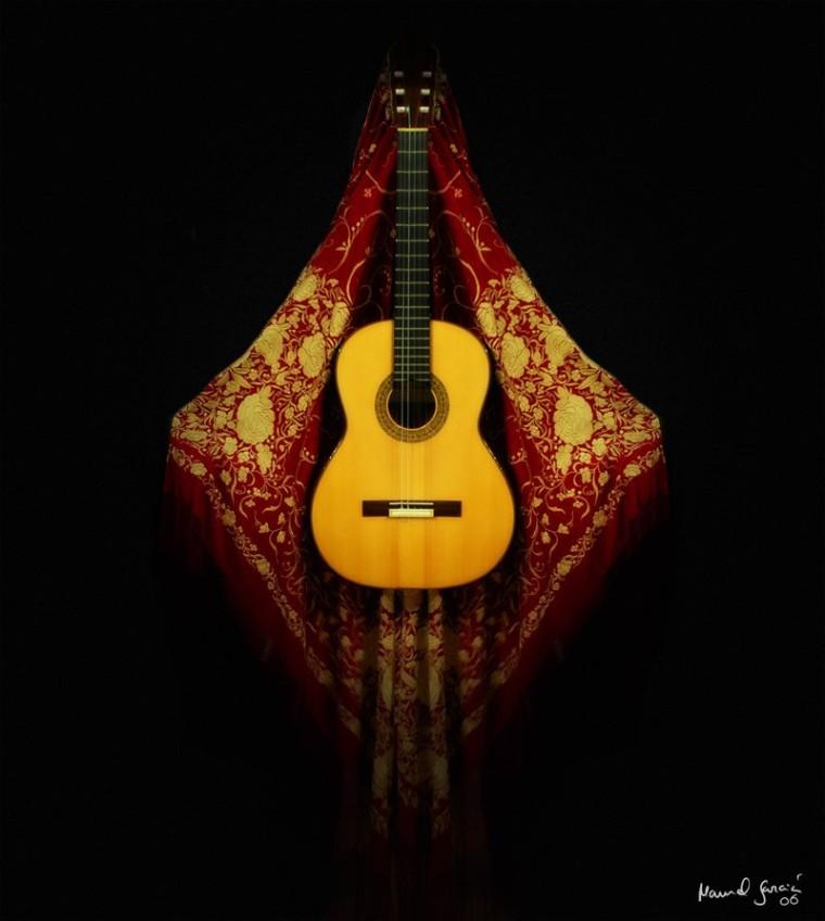 La guitarra flamenca.